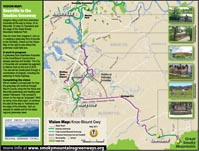 Knox Blount greenway map icon